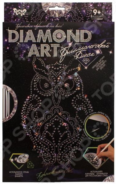Набор для творчества Danko Toys Diamond «Сова» blip toys blip toys palace pets набор сверкающие питомцы щеночек тыковка c аксессуарами