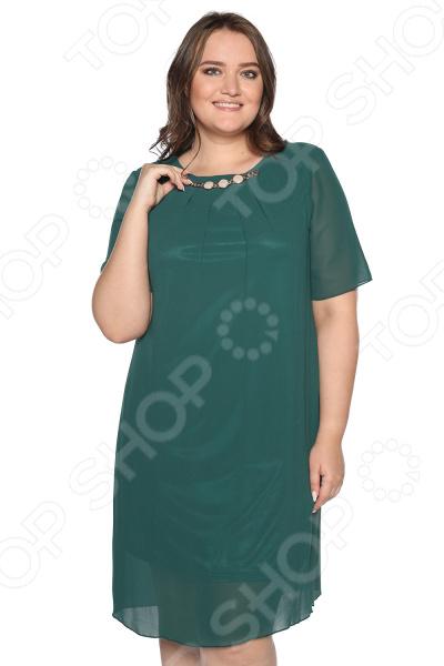Платье Blagof Платье «Роскошная долина». Цвет: изумрудный