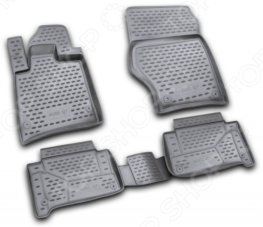 Комплект ковриков в салон автомобиля Novline-Autofamily Audi Q7 2006 novline nlc 04 16 211k audi q7 2006