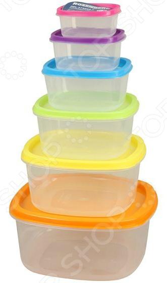 Набор контейнеров для продуктов Rosenberg RPL-575004-6