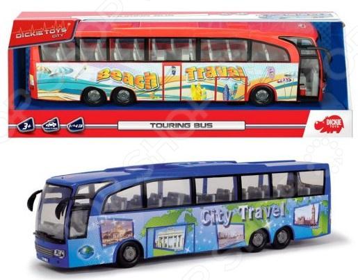 Машинка игрушечная Dickie «Туристический автобус». В ассортименте