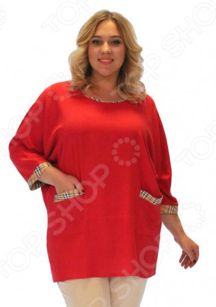 Блуза Pretty Woman «Бузина». Цвет: красный