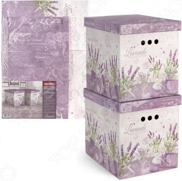 Набор коробок для хранения Valiant Lavande. В ассортименте на каких сайтах можно или продать старинные вещи