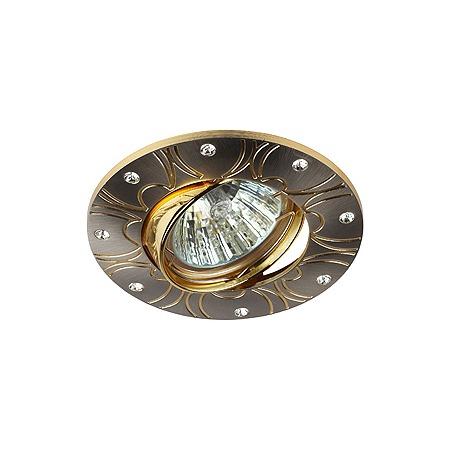 Купить Светильник потолочный встраиваемый Эра KL44А SN/G
