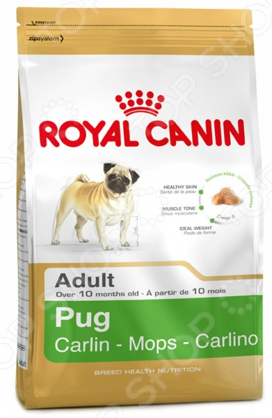 Корм сухой для мопса Royal Canin Adult Pug