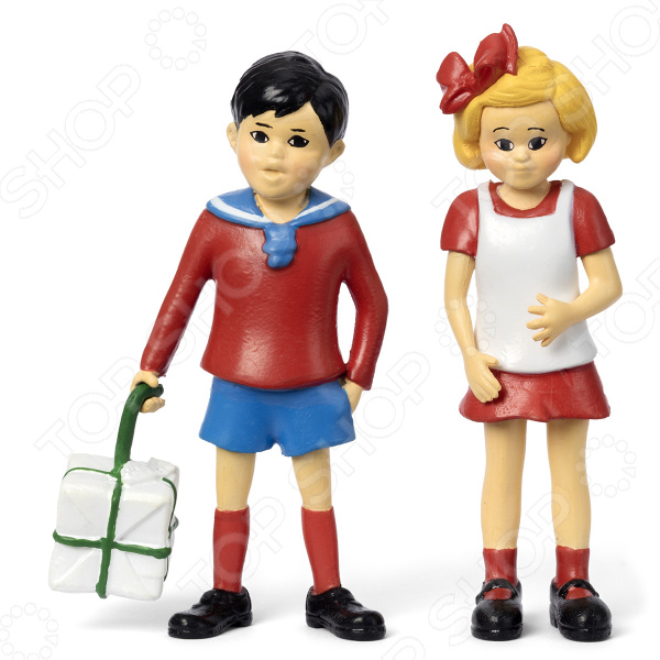 Набор кукол Micki «Пеппи Длинный Чулок. Томми и Анника»