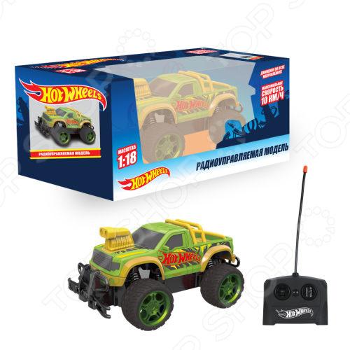 Машинка на радиоуправлении 1 Toy «Внедорожник» Т14169 военный автомобиль на радиоуправлении tongde в72398 пластик от 3 лет зелёный