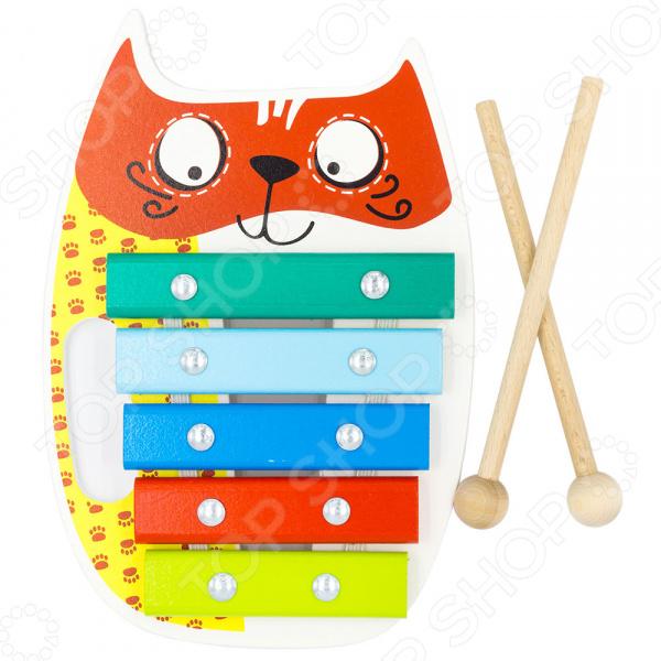 Ксилофон детский Alatoys «Кот»