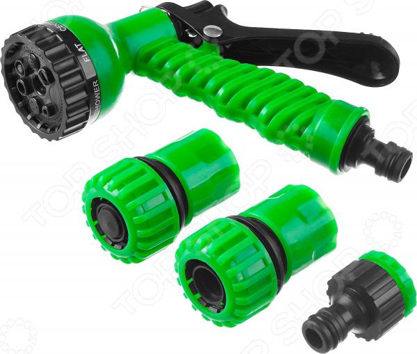 Пистолет-распылитель с соединителями и адаптером Росток 427369 адаптер внутренний росток 426357