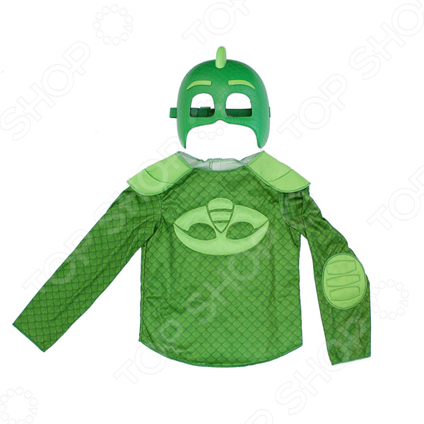 Набор аксессуаров супер-героя PJ Masks «Гекко» плащ и маска гекко uni