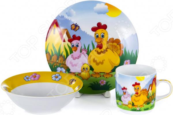 Набор посуды для детей OlAff Children C436