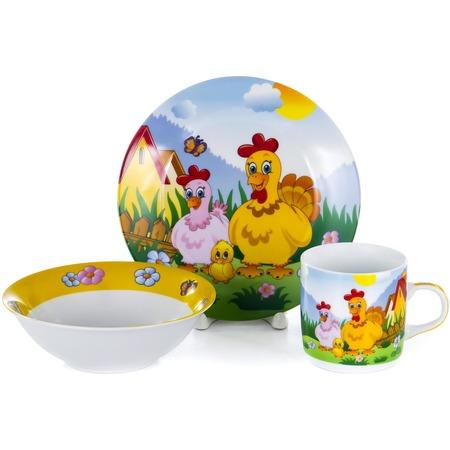 Купить Набор посуды для детей OlAff Children C436