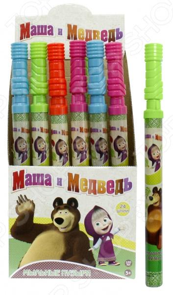 Мыльные пузыри 1 Toy «Маша и Медведь». В ассортименте