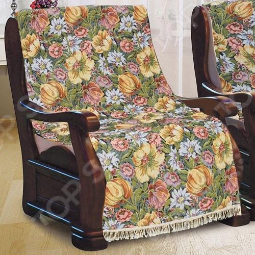 Zakazat.ru: Комплект накидок на кресло МарТекс «Желтые тюльпаны»