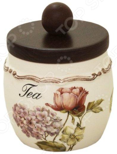 Банка для сыпучих продуктов LCS «Сады Флоренции. Чай»