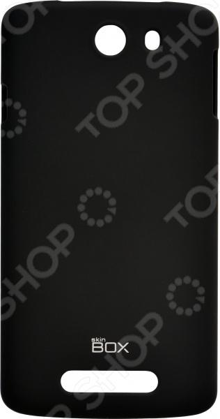 Чехол защитный skinBOX Philips I928 чехлы для телефонов skinbox накладка для lg nexus 5 skinbox серия 4people защитная пленка в комплекте