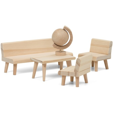 Купить Набор мебели для куклы Lundby «Сделай сам. Гостиная»