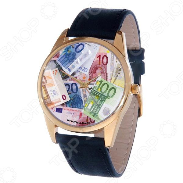 Часы наручные Mitya Veselkov «Евро» Gold