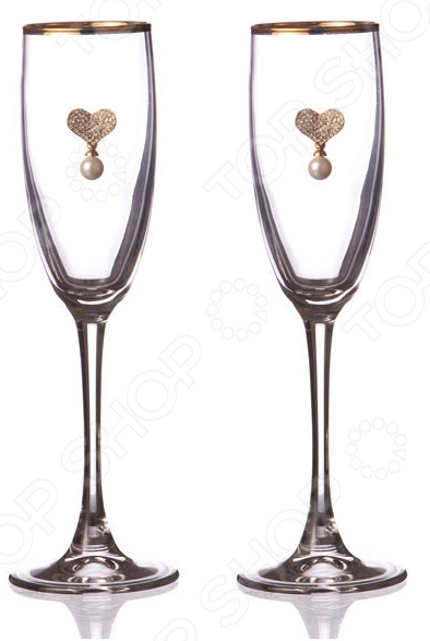 Набор бокалов для шампанского 802-510-11 набор бокалов для бренди коралл 40600 q8105 400 анжела