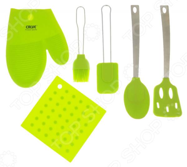 цена Набор кухонных принадлежностей Calve CL-4607. В ассортименте онлайн в 2017 году