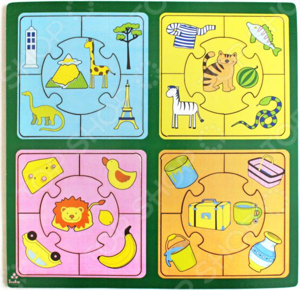 Пазл для малышей Мастер игрушек «Признаки»
