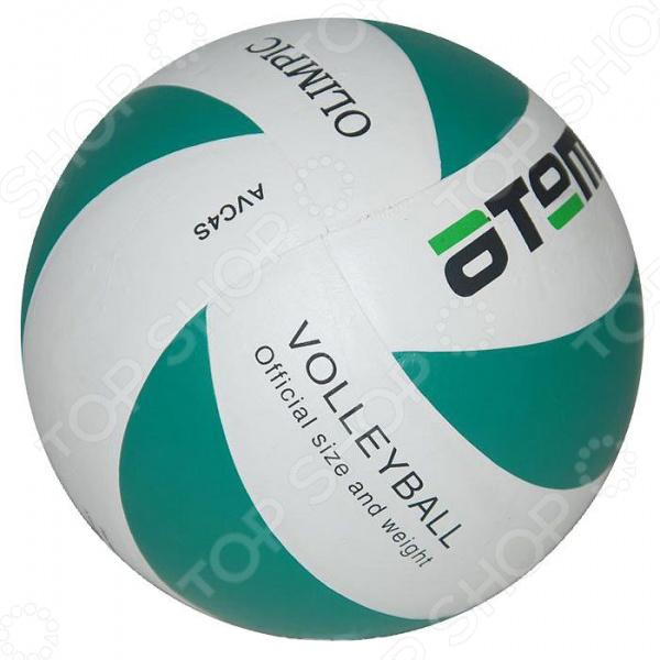 Мяч волейбольный ATEMI OLIMPIC Мяч волейбольный Atemi OLIMPIC /Зеленый/Белый