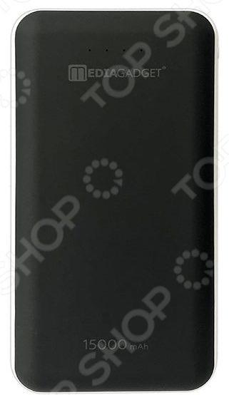 Аккумулятор внешний Media Gadget XPC-112 MLC 2600mah power bank usb блок батарей 2 0 порты usb литий полимерный аккумулятор внешний аккумулятор для смартфонов светло зеленый