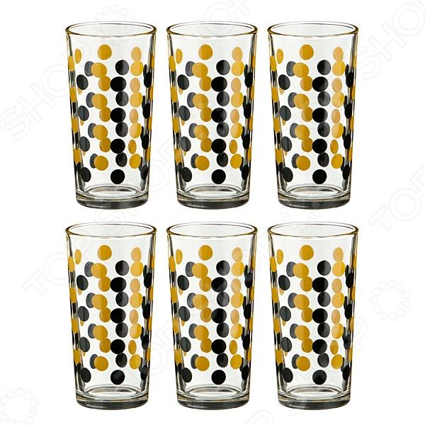Набор стаканов для сока «Горох» 381-642 набор стаканов для напитков salt