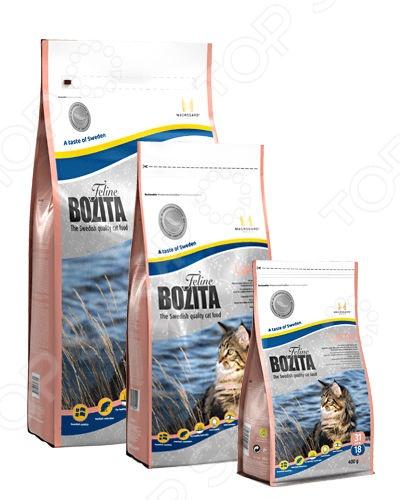 Корм сухой для кошек крупных пород Bozita Large