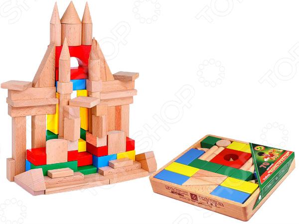 Конструктор деревянный Престиж-Игрушка КЦ2301 деревянный конструктор престиж игрушка собери свой дом с креплением 108 элементов д2108