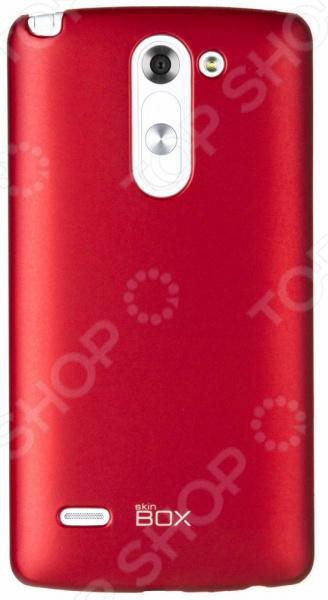 Чехол защитный skinBOX LG G3 Stylus чехлы для телефонов skinbox накладка для lg nexus 5 skinbox серия 4people защитная пленка в комплекте