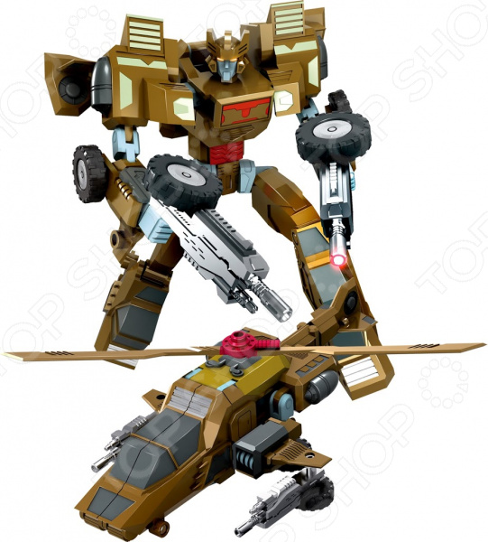 Робот-трансформер Machine boy «Вертолет»