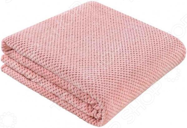 Покрывало Guten Morgen «Розовый жаккард» покрывало из велсофта лондон
