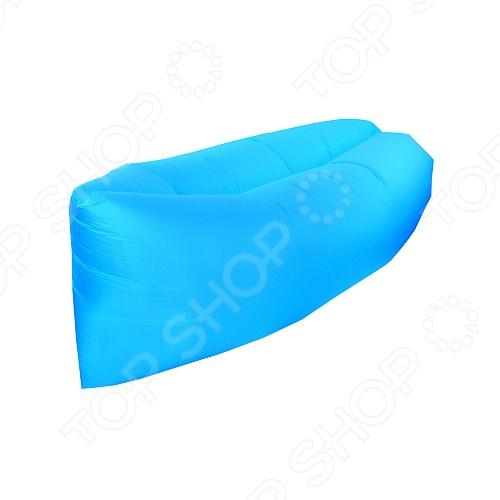 Лежак надувной Greenwood Lazy Bag Лежак надувной Greenwood Lazy Bag /Голубой