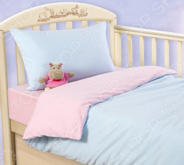 Ясельный комплект постельного белья ТексДизайн «Воздушное пирожное»