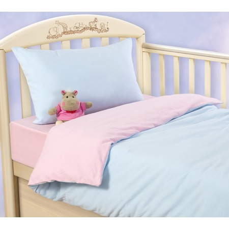 Купить Ясельный комплект постельного белья ТексДизайн «Воздушное пирожное»
