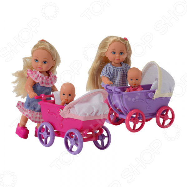 Кукла еви Simba с малышом