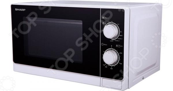 Микроволновая печь Sharp R-6000RW микроволновая печь sharp r 2000rw 800 вт белый черный