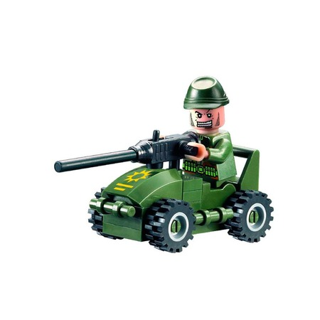 Купить Игровой конструктор Brick «Танк» 830