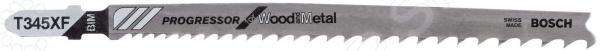 Набор пилок для лобзика Bosch T 345 XF BIM