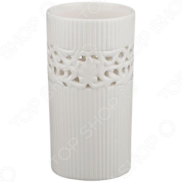 Ваза декоративная Lefard 64-543 купить вазы пластик для искусственных цветов