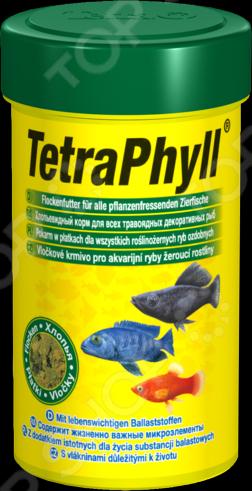 Корм для травоядных рыб Tetra Phyll