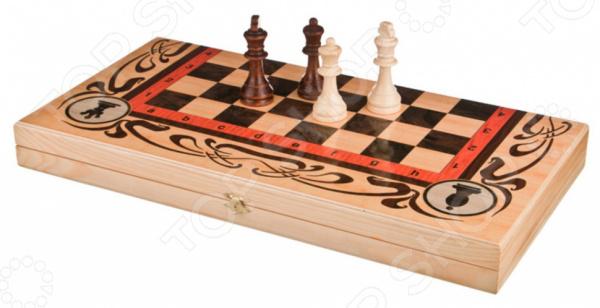 Набор из шахмат, шашек и нард Lefard «Шахматы, шашки и нарды» 28-311