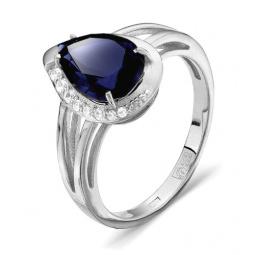 Кольцо «Сапфировая тайна» 100-1022