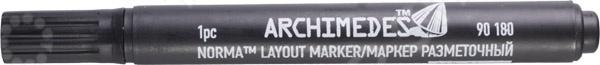 Маркер строительный Archimedes 90180 нож строительный archimedes 90673