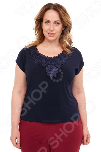 Блуза Лауме-Лайн «Солнечная радость». Цвет: темно-синий блуза лауме лайн перелетная птица цвет бордовый