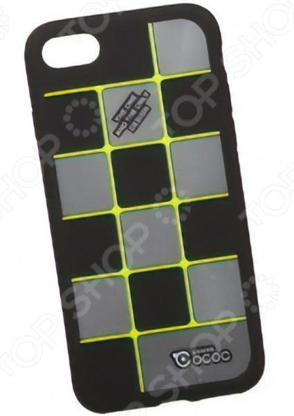 Чехол для телефона для iPhone 8/7 Cococ «Клетка» чехол для apple iphone 8 7 silicone case white