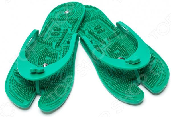 Тапочки массажные Bradex с магнитами Нельзя использовать, если вы пользуетесь кардиостимулятором.. Сланцы...