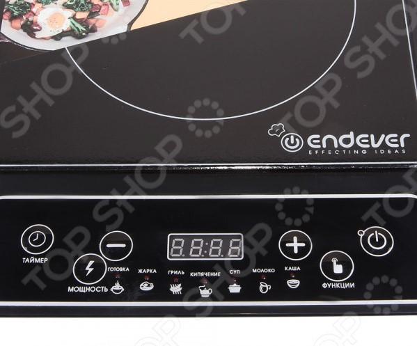 Плита настольная индукционная Endever Skyline IP-22 2