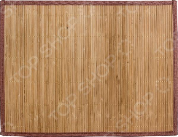 Салфетка сервировочная из бамбука